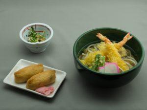 道後GC レストランメニュー 天ぷらうどん定食