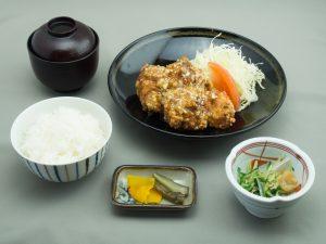 道後GC レストランメニュー 油淋鶏定食   (ユーリンチー)